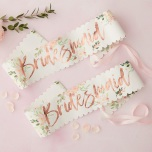 2-pack Ordensband Bridesmaid - Floral Hen