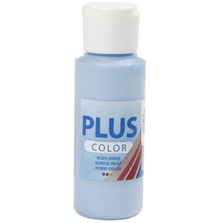 Hobbyfärg Plus color - himmelsblå, 60 ml