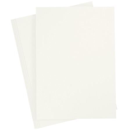 20-pack färgad kartong A4 - elfenben
