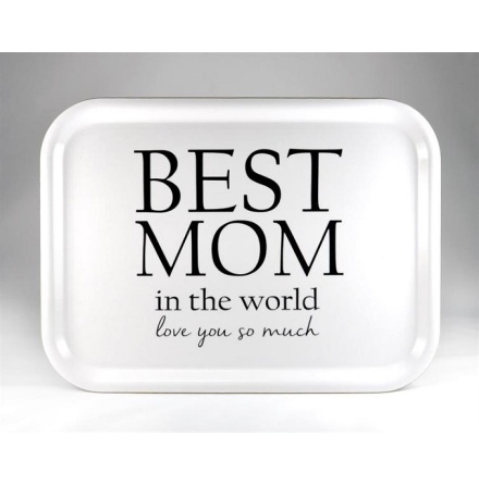 Bricka - Best mom, vit