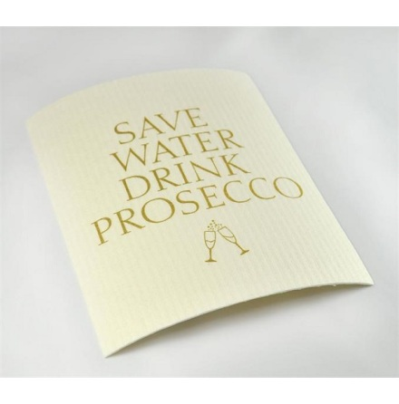 Disktrasa - Save water drink prosecco