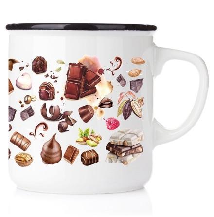 Emaljmugg - Chokladälskaren