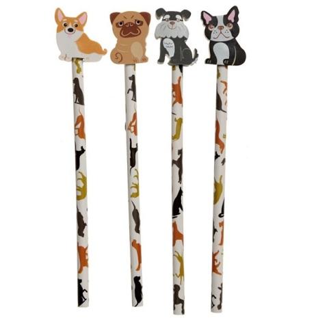 Penna med sudd - Dog Squad