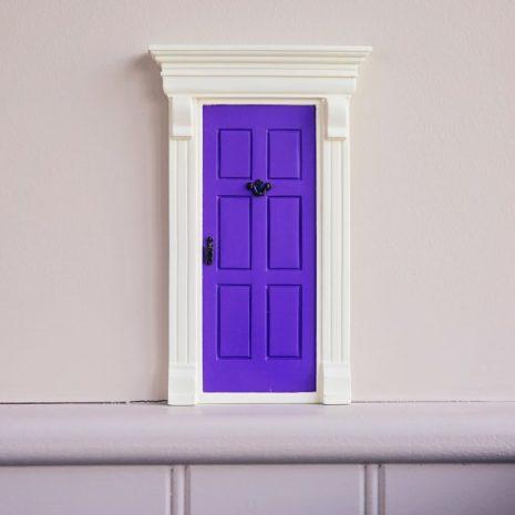 Magisk dörr - lila