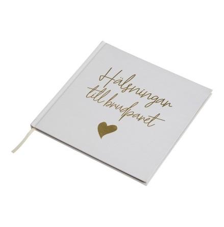 Gästbok - Hälsningar till brudparet