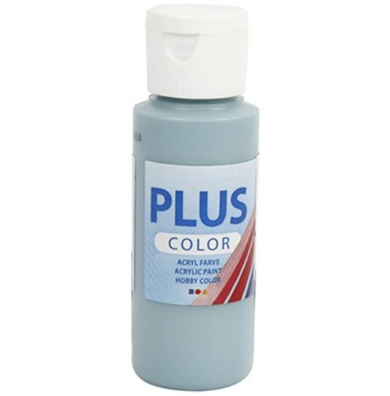 Hobbyfärg Plus color - dusty blue, 60 ml