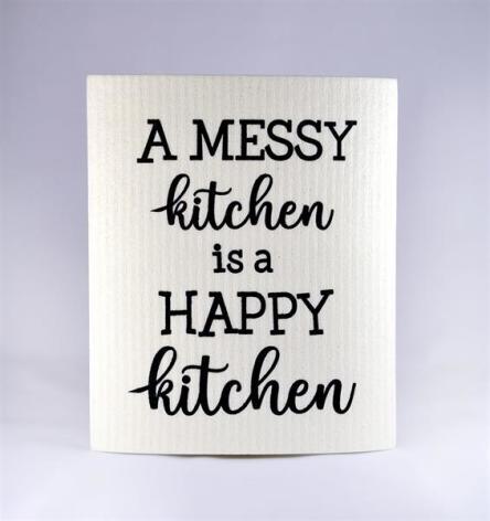 Disktrasa - A messy kitchen