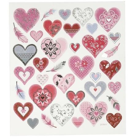Stickers - Hjärtan