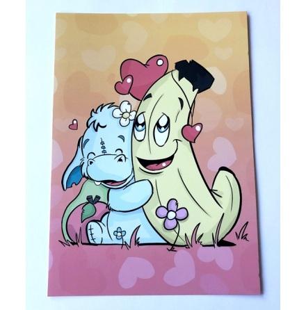 Print A5 - Drakis & Bananen