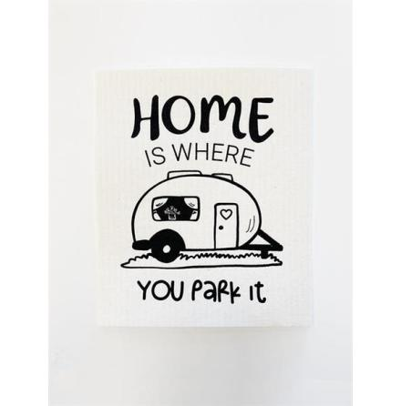 Disktrasa - Husvagn - Home is where you park it
