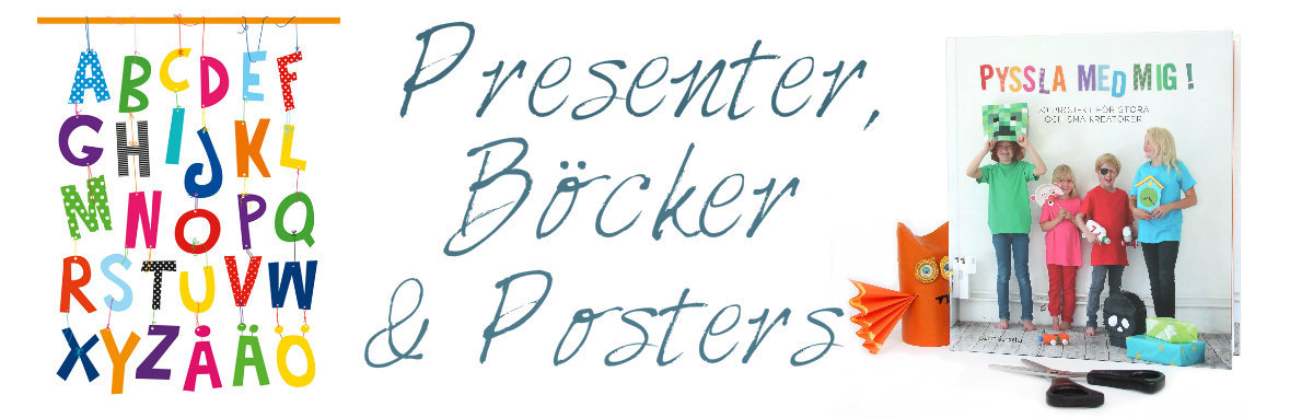Presenter, Böcker & Posters