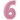 Ballongsiffra - Pastellrosa