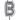 Ballongbokstav - Silver 35 cm