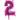 Sifferballong Rosa 35 cm