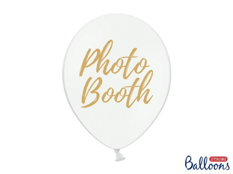 Ballong Photobooth, vit