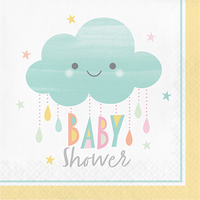 Servetter - Sunshine Babyshower