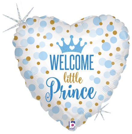 Folieballong - Welcome little prince